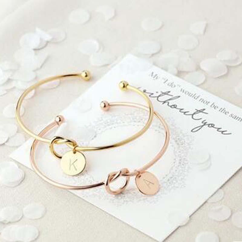 Women's Charm Letter Pendant Bracelet