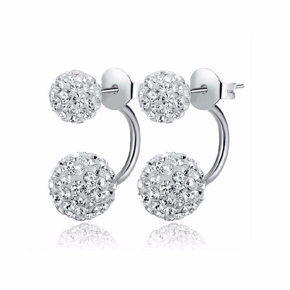 Women's Crystal Shambhala Earrings