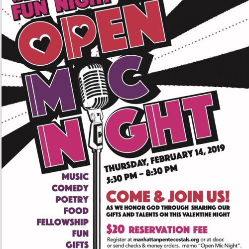 Happy ValentinesDay! Open Mic Nite