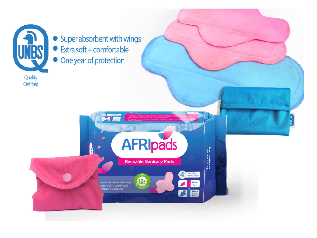 Sanitary Napkins for Girls in Kenya